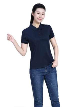 深蓝色T恤